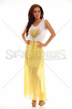 LaDonna Gilded Beauty Yellow Dress