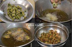 palak pakora-spinach fritters