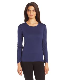 Duofold Women's Base Layer Thermal Long Sleeve Top *** Quickly view this special outdoor item, click the image : Camping clothes