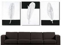 Canvas Painting, Wall Art, Large Painting, Abstract Art, Abstract Painting, Living Room Wall Art, Modern Art, 3 Piece Wall Art, Abstract Painting, Black and White Art