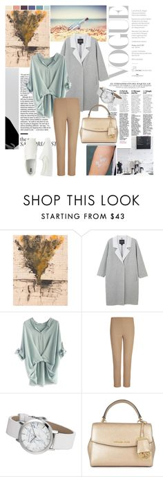 """""""The casual"""" by miabenedicte ❤ liked on Polyvore featuring Seed Design, Monki, Chicwish, Joseph, MICHAEL Michael Kors and Uniqlo"""