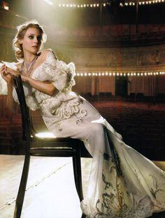 Diane Kruger by Mark Seliger, Vogue Italia