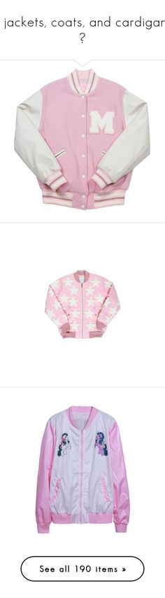 """""""☆ jackets, coats, and cardigans ☆"""" by galaktikons ❤ liked on Polyvore featuring fairykei, gyaru, lolitafashion, outerwear, jackets, tops, pink, inc international concepts, inc international concepts jackets and pink jacket"""