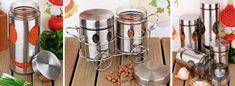 dekoratif metal mutfak gereçleri