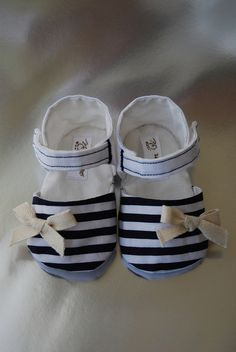 Baby girl sandals, Côte d'Azur inspired