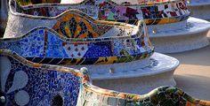 Parc Guell, Barcelona (Spain)