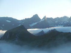 #Mer de #nuage au dessus de la #montagne. Merci à Sylvie : https://www.facebook.com/refuge.valette?fref=ts