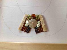 Anfang eines Perlencolliers designt von Anke Weidner