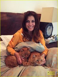 Kate Walsh Isn't Afraid to Admit She's a Cat Lady.