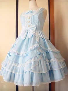 • fashion dress pastel angelic pretty pastel fashion yukitoya •