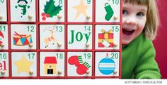 27-Day Advent Calendar and activities