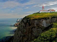 Lighthouse at Cabo da Roca. Photo by Luke T | via Condé Nast Traveler's