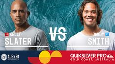 Kelly Slater vs. Jordy Smith - Quiksilver Pro Gold Coast 2017 Round Five...
