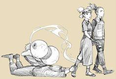gaara, shikamaru, temari, kankuro, naruto - don't go ! Anime Naruto, Naruto And Shikamaru, Naruto Gaiden, Naruto Comic, Naruto Fan Art, Naruto Cute, Naruto Sasuke Sakura, Inu Yasha, Funny Naruto Memes