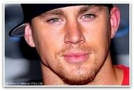 Channing Tatum wit his hat on backwards...Can I say SEXY
