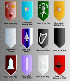 Twelve Houses of the Gondolindrim