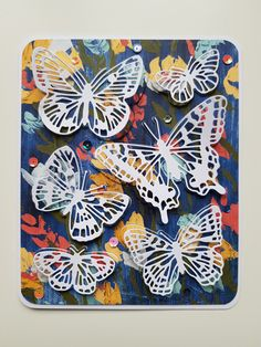 #scrap #butterflybrilliance #stampinup Stampin Up, Scrapbooking, Butterfly, Cards, Stamping Up, Scrapbooks, Butterflies, Memory Books, Scrapbook