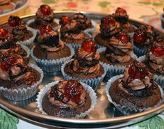 Black Forest Cupcakes.  Vegan.  By Cakeability.