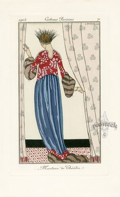 1913 Journal des Dames et des Modes - George Barbier
