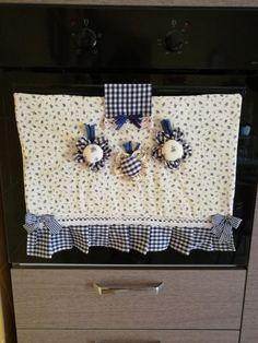 Tendine per cucina in muratura cucite a mano su richiesta con ...