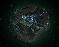 Проверьте, не подвергаетесь ли вы кибератаке #CyberSecurityMap #CyberSecurity #CyberWar