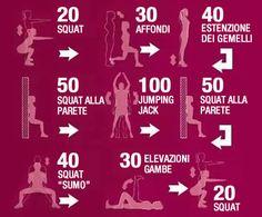 Routine di esercizi per tonificare le gambe in pochi giorni   Rimedio Naturale