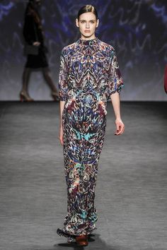 Vivienne Tam - abstract geos and conversational/baroque
