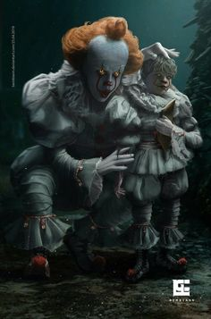 Pennywise and Georgie