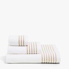 TOWEL WITH METALLIC THREAD BORDER - Towels - Bathroom   Zara Home Serbia