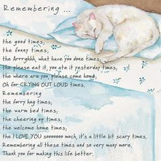 CAT Bereavement Gift Magnet - RIP My Furry Friend - cat loss, sympathy, memorial Flexible Magnet x Pet Quotes Cat, Pet Loss Quotes, Animal Quotes, Dog Cat Tattoo, Cat Poems, Cat Loss Poems, Pet Loss Grief, Dachshund, Pomes