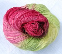 Bayfield Apple -- red and green yarn  So wish this was still available!  LOVE it!!!