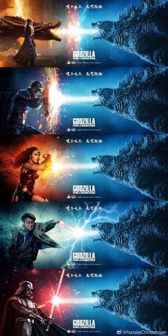 Godzilla funny - ok sure geek Funny Marvel Memes, Marvel Jokes, Dc Memes, Funny Comics, Memes Humor, Really Funny Memes, Stupid Funny Memes, Haha Funny, Tumblr Funny