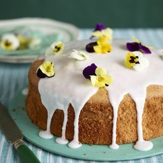 Lemon Chiffon Cake - Woman And Home
