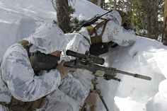 Scout sniper snow MARPAT - M40 rifle - Wikipedia, the free encyclopedia