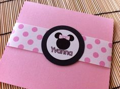 Minnie mouse party invitation Minnie mouse by BirthdayPartyBox Minnie Mouse Party, Mouse Parties, 3rd Birthday, Birthday Parties, Party Fun, Party Ideas, Party Invitations, First Birthdays, Ideas Para