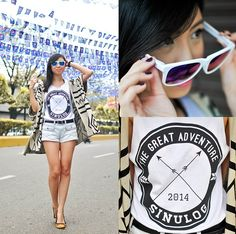 The Great Adventure: Sinulog 2014 Sinulog, Glasses Sun, Pink Lemon, Filipina, Greatest Adventure, Shirt Style, T Shirts For Women, Sunglasses, Store