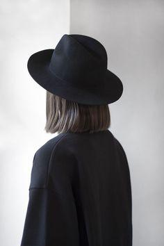 ae6e954f73d Black Fedora Outfit