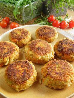 Najlepsze kotlety warzywne Veggie Recipes, Vegetarian Recipes, Cooking Recipes, Healthy Recipes, Healthy Food, Good Food, Yummy Food, Fish Salad, Vegan Dishes