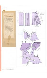 Costura,Patrones y mucho mas: Libro de Oro Hermenegildo Sewing Tutorials, Sewing Patterns, Pola Rok, Pekinese, Learn To Sew, How To Make, Pattern Drafting, Sewing Clothes, Pattern Making