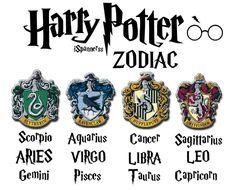 harry potter symbol Horoscope Calendar   Harry Potter zodiac signs - my personal opinion