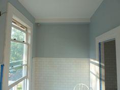 Atmosphere Blue Restoration Hardware Paint Brown Brick Bath Front Door Colors