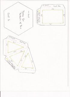 FREE SVG SCUT3 MTC for hexagonal explosion box card
