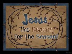 Free Christmas Primitive Clip Art | ... THE REASON FOR THE SEASON Christmas Wood sign Primitive Country decor