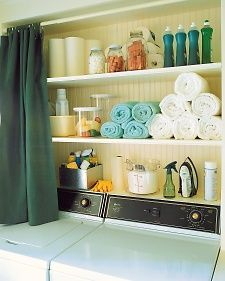 This is how I want all my sellers with laundry closets to organize them to look.