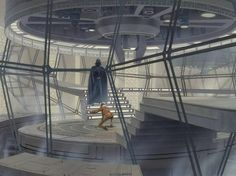 Star Wars art by Ralph McQuarrie