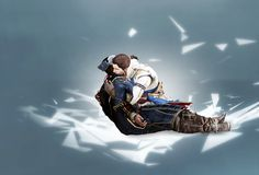 AHHHHHH. THIS IS IT. THE END OF MY FEELS. CONNOR AND HAYTHAM KENWAY. I CAN'T EVEN. Assassin's Creed III.