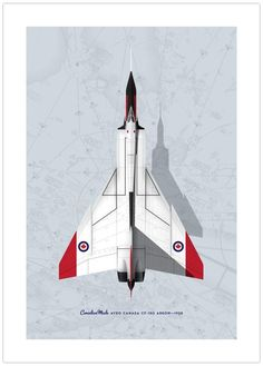 The Avro Arrow Art Print is the perfect gift for the history or aviation buff in your family. A piece of Canadian history Made in Canada. Aviation Industry, Aviation Art, John Diefenbaker, Avro Arrow, What Might Have Been, Arrow Art, Aircraft Painting, Vintage Airplanes, Handmade Frames