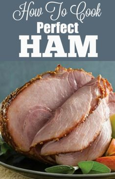 Holiday Ham Cooking Tips and Recipes How To Cook Ham, What To Cook, How To Prepare Ham, Holiday Ham, Holiday Recipes, Holiday Dinner, Christmas Brunch, Holiday Meals, Precooked Ham