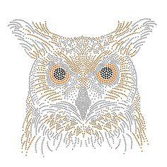 Owl rhinestone