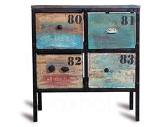 4 Drawer Cabinet Industrial Design